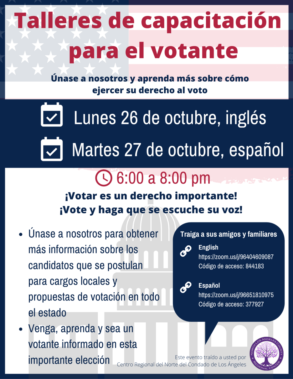 Voter education training Spanish